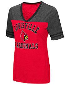 Colosseum Women's Louisville Cardinals Whole Package T-Shirt