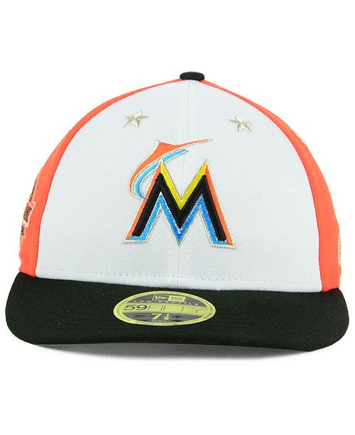 ... low cost new era miami marlins all star game patch low profile 59fifty  fitted 6eb39 2439f ca78999c425