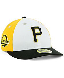 New Era Pittsburgh Pirates All Star Game Patch Low Profile 59FIFTY Fitted Cap 2018