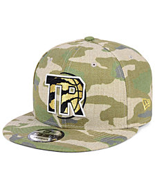 New Era Toronto Raptors Combo Camo 9FIFTY Snapback Cap