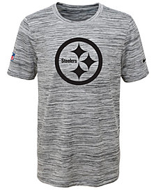 Nike Pittsburgh Steelers Velocity Legend Travel T-Shirt, Big Boys (8-20)