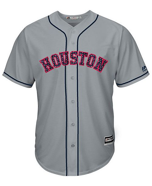 timeless design a7c70 b0185 Majestic Men's Jose Altuve Houston Astros Stars & Stripes ...
