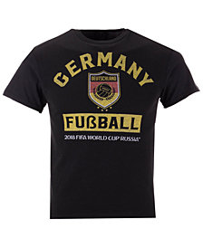 Fifth Sun Germany National Team Pillbox World Cup T-Shirt, Big Boys (8-20)