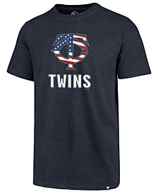 '47 Brand Men's Minnesota Twins Spangled Banner Club T-Shirt