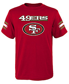 Outerstuff San Francisco 49ers Goal Line T-Shirt, Big Boys (8-20)