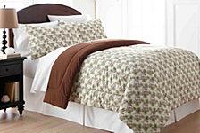Micro Flannel® Twin Awning Stripe Comforter Mini Set