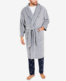 Nautica Men's Plush Robe
