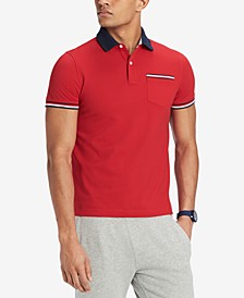 Men's Homer Custom Fit Polo Shirt, Created for Macy's