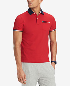 Tommy Hilfiger Men's Homer Custom Fit Polo Shirt, Created for Macy's