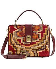 Patricia Nash Peruvian Tapestry Tauria Box Satchel