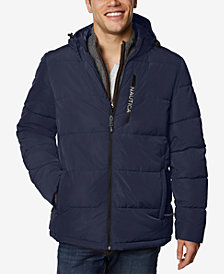 Nautica Men's Loden Hooded Parka