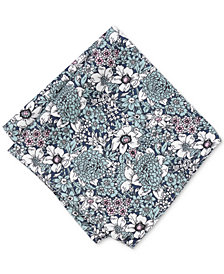 Bar III Men's Illustrated Floral Pocket Square, Created for Macy's
