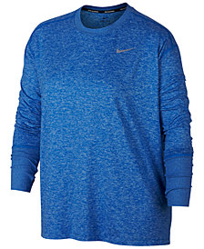 Nike Plus Size Element Running Top