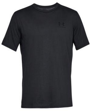 UNDER ARMOUR Sportstyle Loose Fit T-Shirt in Black