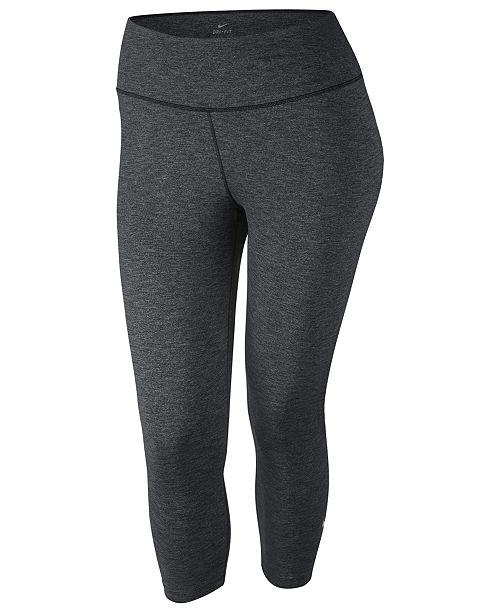 f83f8974a38 Nike Plus Size Sculpt Lux Cropped Leggings   Reviews - Pants ...