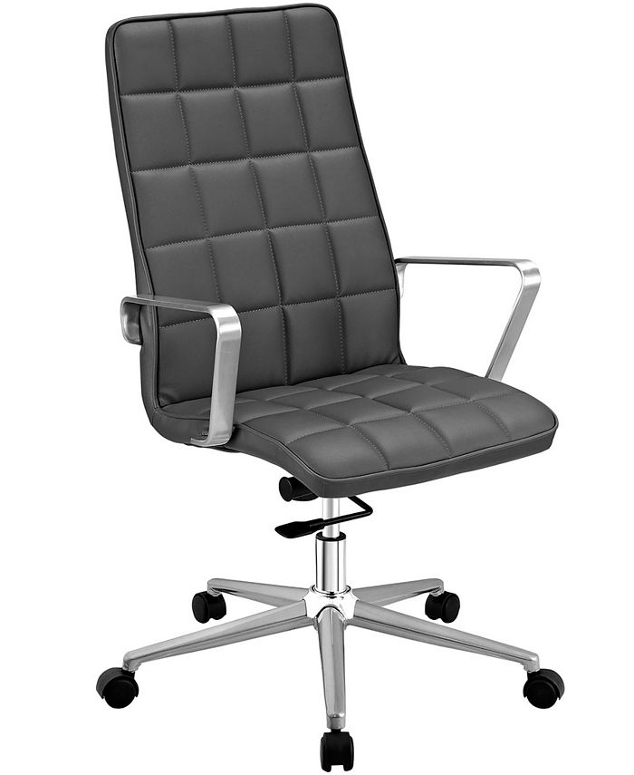 Modway - Tile Highback Office Chair in White