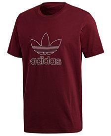 adidas Men's Originals Adicolor Outline-Logo T-Shirt