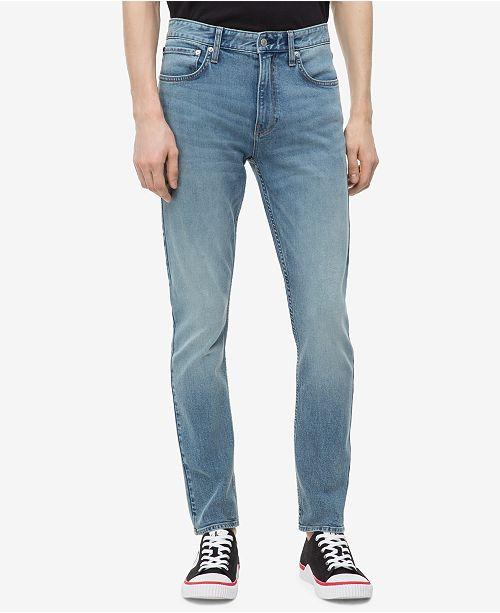 f25f28ac Calvin Klein Jeans Men's Straight-Fit Jeans & Reviews - Jeans - Men ...