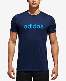 adidas Men's ClimaLite® Logo-Print T-Shirt