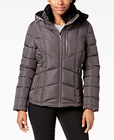 Calvin Klein Hooded Down Puffer Coat