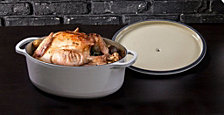 Lodge 7.5-qt. Oyster White Dutch Oven