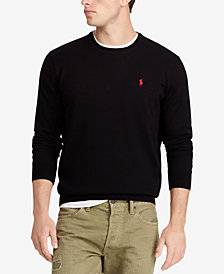 Polo Ralph Lauren Men's Big & Tall Merino Wool Sweater