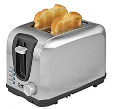 2-Slice Stainless Steel Toaster