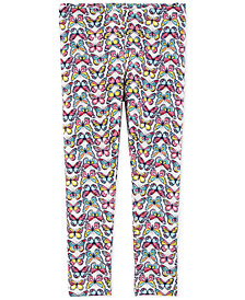Carter's Baby Girls Butterfly-Print Leggings