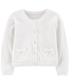 Carter's Toddler Girls Cotton Cardigan Sweater