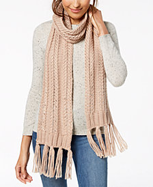 Vince Camuto Chunky Herringbone-Stitch Scarf, Created for Macy's