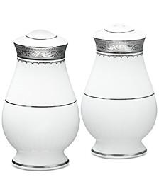 Odessa Platinum Salt & Pepper Shakers