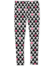 Carter's Little Girls & Big Girls Heart Leggings
