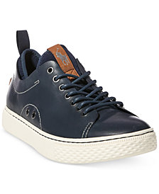 Polo Ralph Lauren Men's Dunovin Leather Sneakers