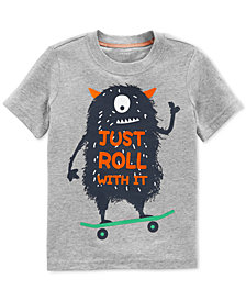Carter's Toddler Boys Monster-Print Cotton T-Shirt