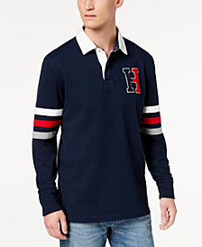 Tommy Hilfiger Men's Kunitz Rugby Classic Fit Polo Shirt, Created for Macy's