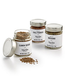Martha Stewart Collection 3-Pc. Fiesta Spice Set, Created for Macy's