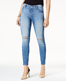 M1858 Kristen Ripped Ankle Skinny Jeans, Created for Macy's