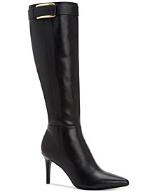 Calvin Klein Women's Wide Calf  Glydia Boots