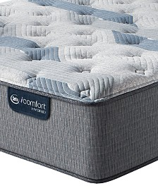 "iComfort by Serta Blue Fusion 200 13.5"" Hybrid Plush Mattress Collection"