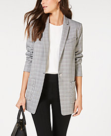 MICHAEL Michael Kors Patch Pocket Blazer, In Regular & Petites