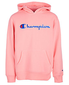 Champion Little Girls Heritage Logo Hoodie