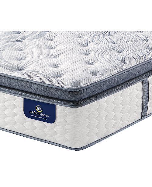 Serta Perfect Sleeper 14 75 Glendower Plush Pillow Top Mattress