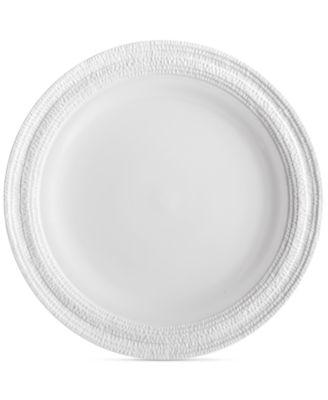 Gotham White Dinner Plate