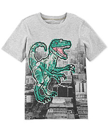Carter's Little & Big Boys Dinosaur-Print Cotton T-Shirt