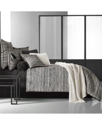 Oscar|Oliver Flen Cotton Black Bolster Decorative Pillow