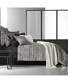 Oscar|Oliver Flen Cotton Black King Duvet Cover