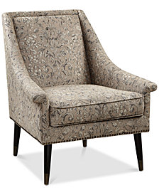 Tasha Accent Chair, Quick Ship