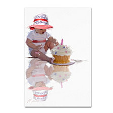 The Macneil Studio 'Baby with Birthday Cake' Canvas Art Collection