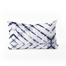 Deny Designs Little Arrow Design Co Shibori Tie Dye Oblong Throw Pillow
