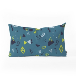 Deny Designs Mareike Boehmer Playground Scribbles Oblong Throw Pillow